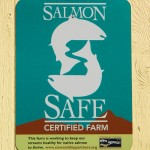The Dahlia Barn is a Certified Salmon Safe Farm