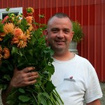 Dahlia Barn owner, Jerry Sherrill
