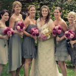 Happy Bride & Bridesmaids