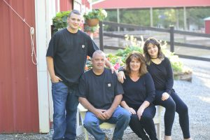 Sherrill Family, owners of Dahlia Barn