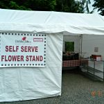 Outside Flower Stand