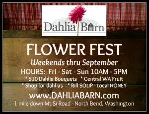 Flower Festival at Dahlia Barn